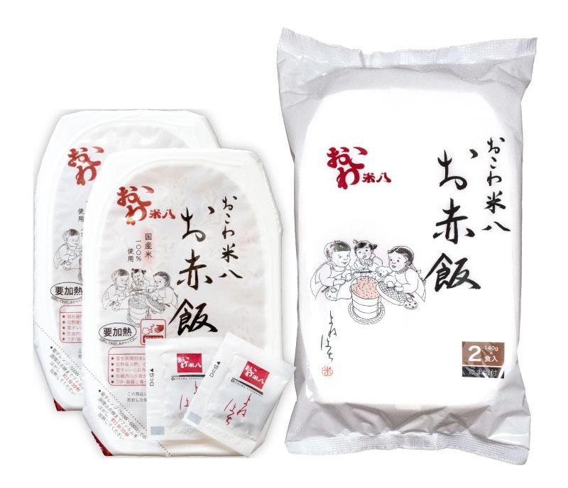 お赤飯 [包装米飯]